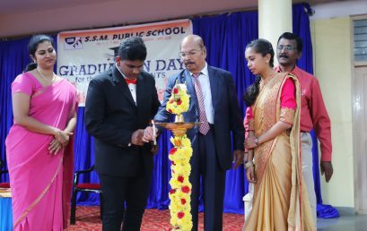 SSM Public School celebrated its Graduation Day for SSLC Students